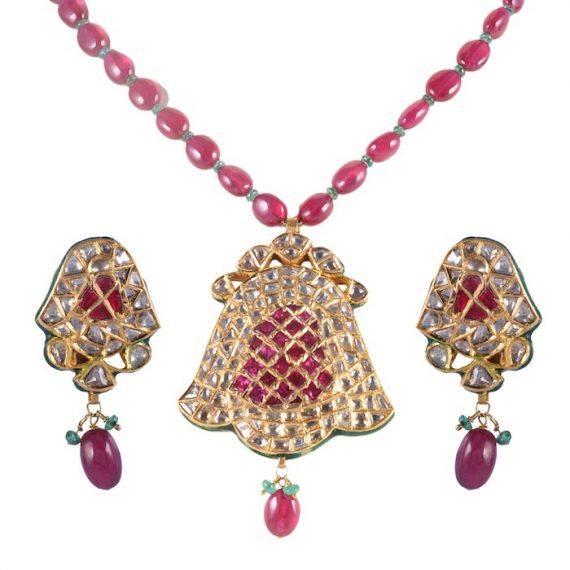Kundan Polki Sets Karan Kothari Jewellers